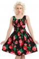 Finley Black Floral Dress