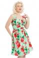Finley Green Floral Dress