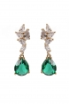 Elegant Emerald Earrings