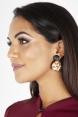 60s Clique Leopard Earrings
