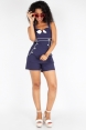 Eliza Nautical Halter Playsuit