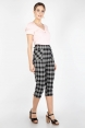 Felicity Cropped Retro Trousers