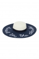 Head In The Clouds Sunhat Navy