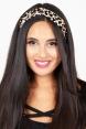Leopard Velvet Twist Headband