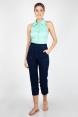 Jasmine Mint Sleeveless Shirt