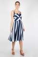 Kayla Nautical Striped Dress
