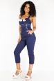Kylie Nautical Skinny Jumpsuit