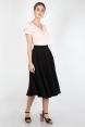 Sandy Black Full Circle Skirt