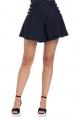 Polly Navy Swing Shorts