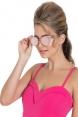 Retro Round Pink Sunglasses