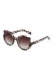 Extreme Cat Eye Sunglasses Leopard