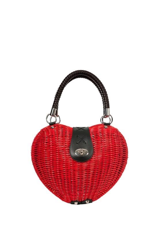 The Monroe Red Bag