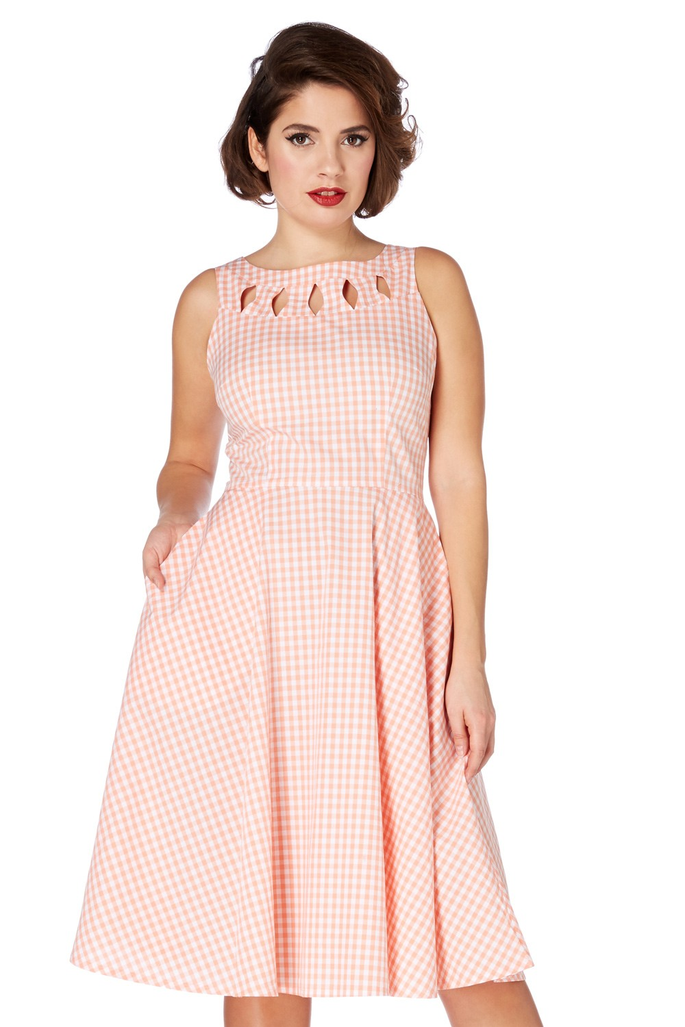 Donna 50s Gingham Dress | Vintage Inspired Fashion & Accessories
