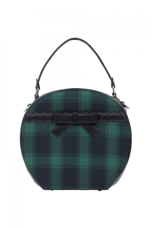 Ivy Plaid Hat Bag