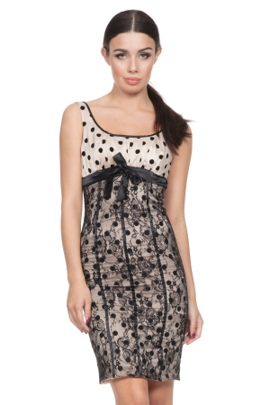 Tori Lace Pencil Dress