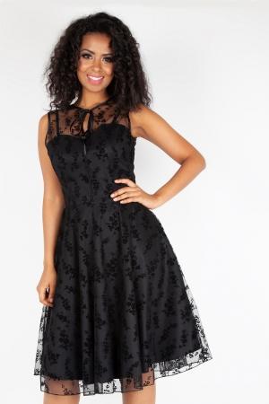 Penny Black Taffeta and Lace Dress