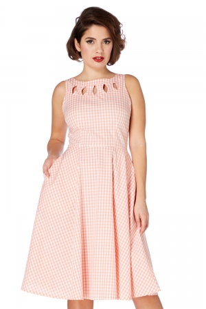 Donna 50s Gingham Dress