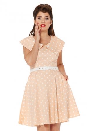Kris 50s Polka Dot Dress