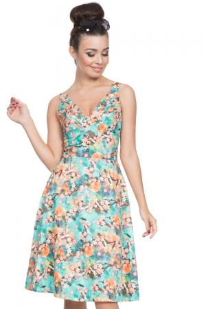 Lizabeth Swing Summer Dress