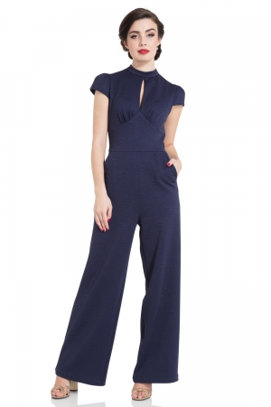 Maude High Neck Jumpsuit