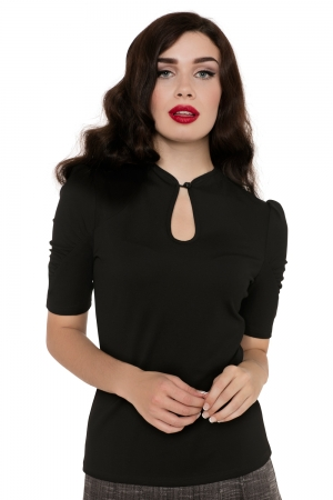 Dita Teese Black Pinup Top