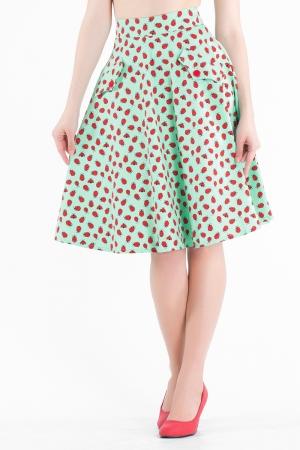 Ladybird Polkadot Flare Skirt