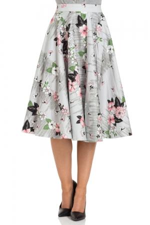 Primrose Floral Swing Skirt