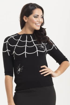 Charlotte Webbed Sweater