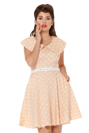 Kris 50s Polka Dot Dress