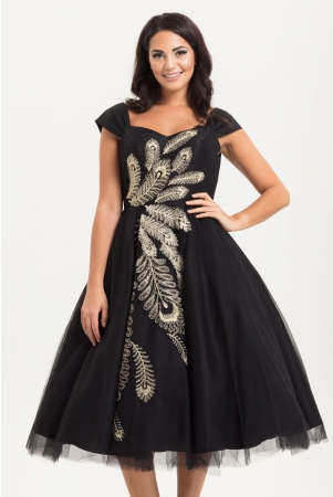 Scarlett Peacock Occasion Gown
