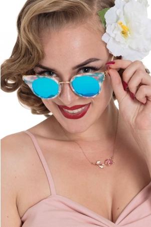 Retro Round Multi Sunglasses