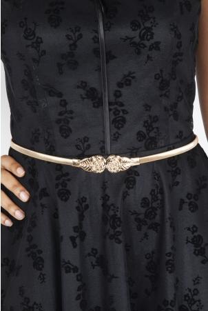 Rose Leaf Adjustable Waist Belt
