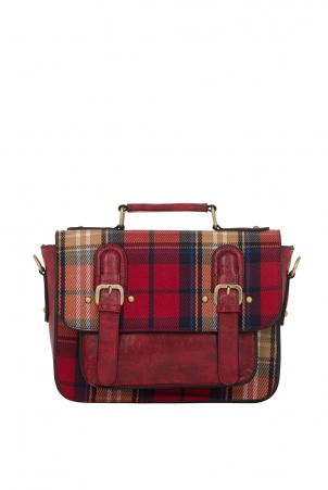 Winter Plaid Bag