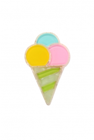 Ice Cream Treat Resin Brooch