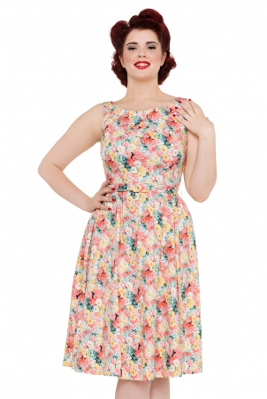 Pollyanna 50s floral Dress