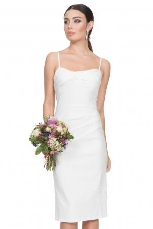 Davina White Wiggle Dress