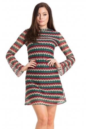 Edie 60s Stripe Dress