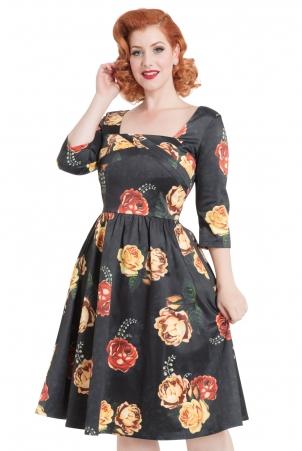 Meg Floral Swing Dress