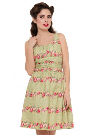 Angie Floral Cotton Dress