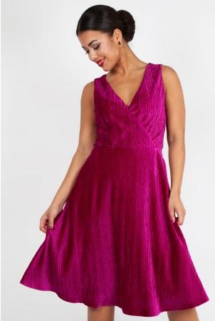 Irene Velvet Midi Dress