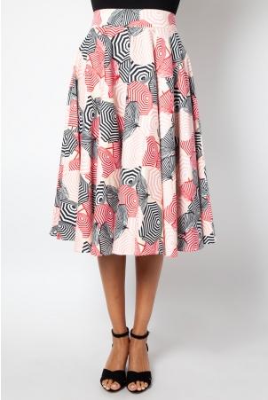 Isabella Beach Umbrella Flare Skirt