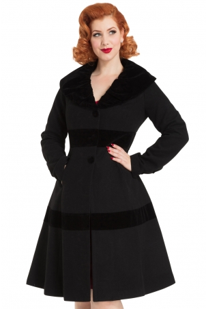 New Thora Velvet Trim Jacket