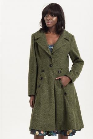 Nicole Green 40's Style Coat