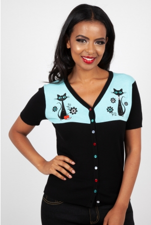 Josephiene Kitchen Kitten Cardigan