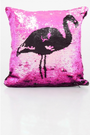 Flamingo Fun Two Tone Cushion Cover