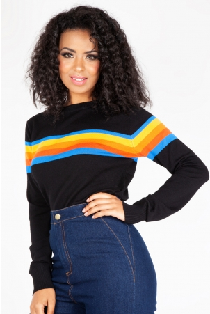 Mackenzie Rainbow Pullover