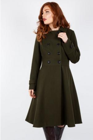 Vixen Curve Martha 40s Longline Coat