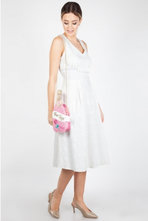Pink Champagne Chain Bag