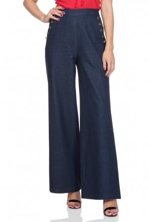 Samantha 40's style Denim Trousers