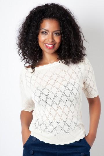 Alexandra Diamond Heart Sweater